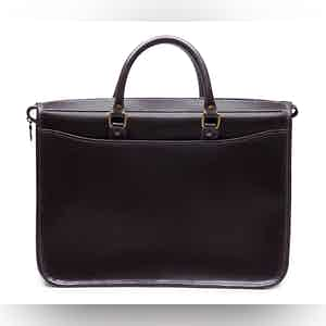 Dark Havana and Black Heritage Mayfair Briefcase