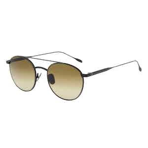 Matte Black Steel Jeremy Hackett Signature Collection Sunglasses