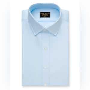 Ice Blue Oxford Cotton Shirt