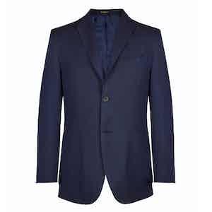 Navy Wool Lined Blazer