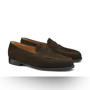Brown Lopez Museum Loafers