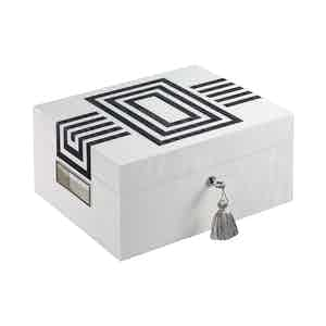 Day Astaire Deco Collection Tea Humidor, 4 Teas