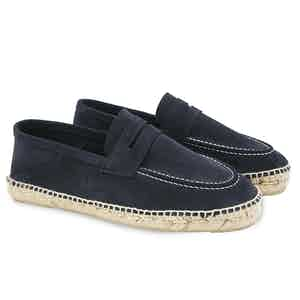 Patriot Blue Hamptons Suede Loafers