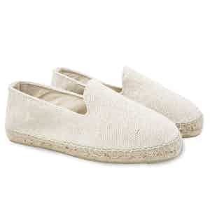 Cream Yucatan Canvas Espadrilles