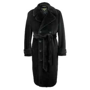 Black Teddy Bear Coat