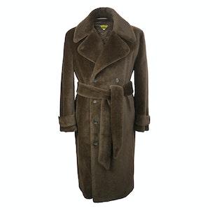 Chocolate Teddy Bear Coat