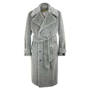 Grey Teddy Bear Coat
