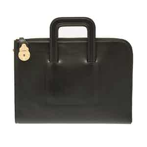 Black Bakerloo Portfolio Case, Metropolitan Collection