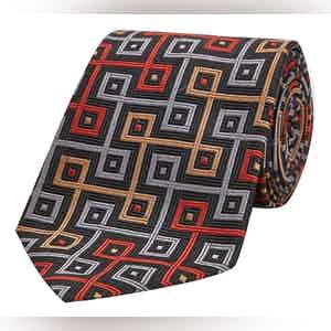 The World is Not Enough Silk Tie