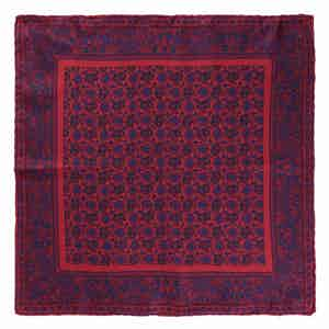 Red Lychee Prosecco Silk Pocket Square