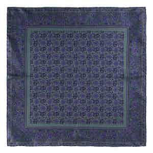 Green Pear Prosecco Silk Pocket Square