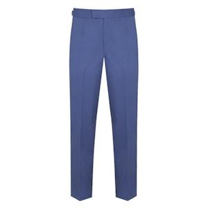 Light Blue Cotton Trousers
