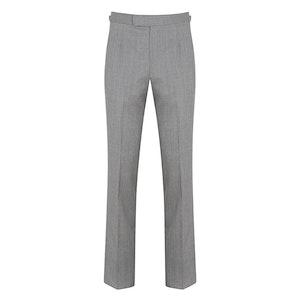 Light Grey Wool Trousers