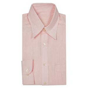 Soft Pink Linen Shirt