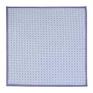 Purple Cotton Mosiac Neckerchief