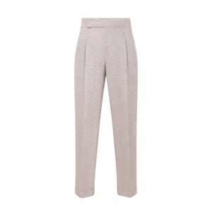 Beige Linen Capelli Trousers