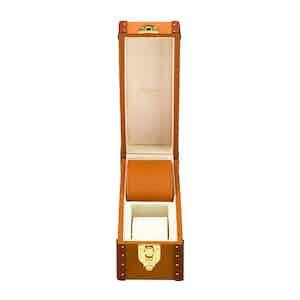 Tan Leather Two-Watch Kensington Box