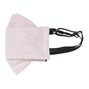 Pink Chambray Mask
