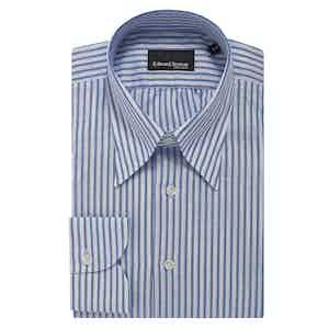 Blue Fine Bengel Stripe Shirt