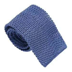 Azure Silk Maglia Tie