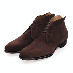 Bitter Chocolate Chukka Boots