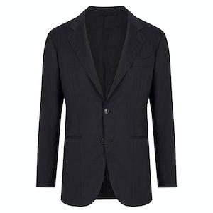 Navy Fine Wool Jacket