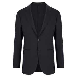 Navy Fine Wool Jacket