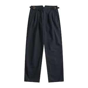 Chairman Navy Four Season Cotton Gurkha Pants
