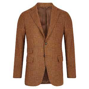 Cocoa Brown Wool Jacket