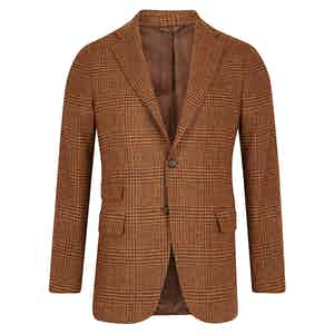 Cocoa Brown Wool Jacket