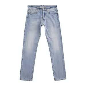 Blue Light Wash Slim Fit Bandito Jeans