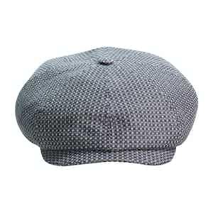 Grey Brooklyn Newsboy Cap