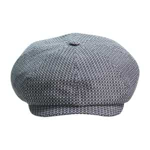 Grey Brooklyn Newsboy Cap
