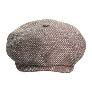 Brown Brooklyn Newsboy Cap