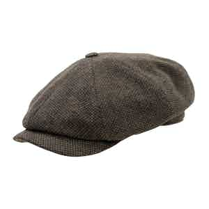 Brown Shelby Cap