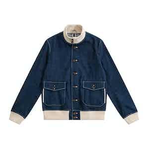 Japanese Denim Grant A-1 Jacket