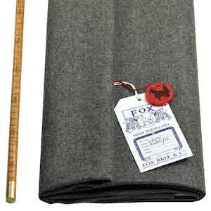 Classic Mid-Grey Fox Flannel Cloth