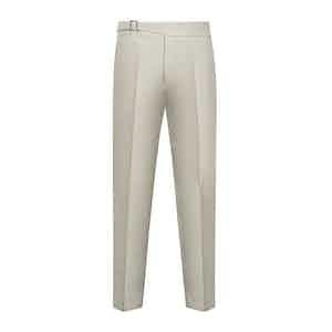 Beige Cotton Genny Trouser