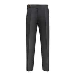 Grey Flannel Cotton Genny Trouser
