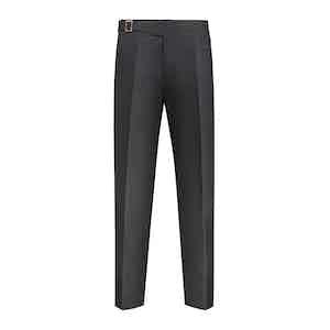 Grey Flannel Cotton Genny Trouser
