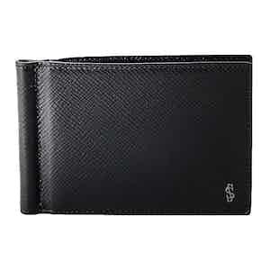 Eclipse Black Evoluzione Leather 6-Card Moneyclip Billfold