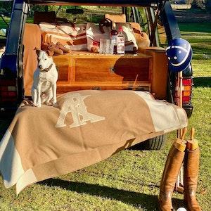 The Alexander Kraft Monte Carlo super-soft wool home blanket