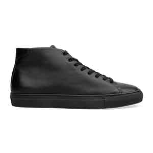 Black High-Top Sneakers Roberto