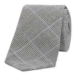 Blake Check Wool Tie