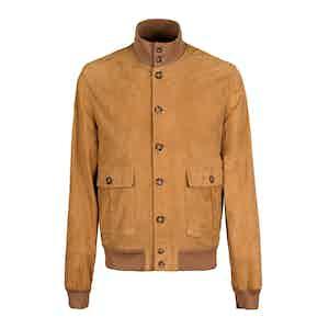 Honey Light Suede Unlined Valstarino Jacket