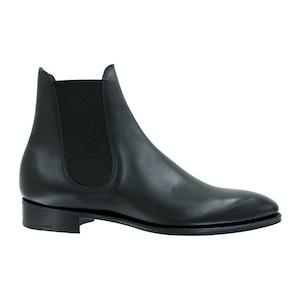 Black Calf Leather Burnham Chelsea Boots