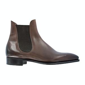 Vintage Oak Calf Leather Burnham Chelsea Boots