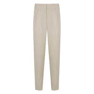 Natural Linen Trousers