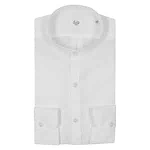 White Irish Linen Shirt