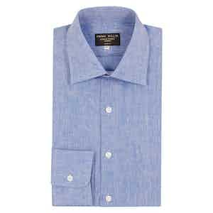 Gesso Blue Linen Shirt